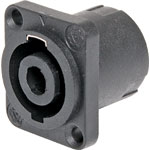 P0793 Rect. Chassis Mount Speaker Connector Socket