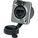 P0845 Waterproof IP65 RJ45 Chassis Mount