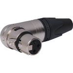 P0860 3 Pin Female Line XLR 90 Deg. NC3FRX