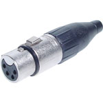 P0914 4 Pin Female Line XLR AC4F