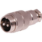 P0943 2 Pin Male Line Microphone Connector