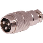 P0944 3 Pin Male Line Microphone Connector