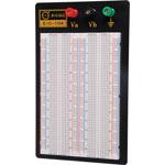 P1012A 1660 Tie Point Solderless Aluminium Base Breadboard