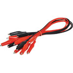 P1027 Mini Croc Clip Test Lead Set Red / Black