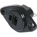 P1168 2 Pin Chassis Mount DIN Socket