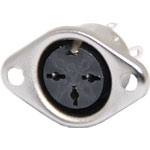 P1170 3 Pin Chassis Mount DIN Socket