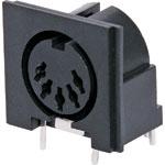 P1188 5 Pin PCB Mount DIN Socket