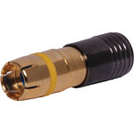 P1260 Yellow RG59 Compression Crimp RCA