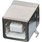 P1304A Type B 90 Deg. Horizontal PCB Mount USB 2.0