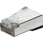 P1382 8P8C RJ45 Modular Plug Cat5e Shielded (Suit Solid Cable)