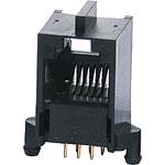 P1405A 6P6C RJ12 Modular Socket PCB Mount