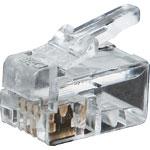 P1412A 4P4C RJ10 Modular Plug (Suit Stranded Cable)