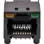 P1452A 8P8C RJ45 Modular Socket PCB Mount With LEDs