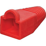 P1850A Red Modular Patch Lead Caps RJ45 Pk-10