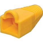 P1856A Yellow Modular Patch Lead Caps RJ45 Pk-100