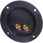 P2017 2 Way Speaker Terminal Binding Post Gold Round