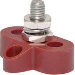 P2172 Single Red M8 Power Distribution Post