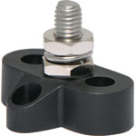 P2173 Single Black M8 Power Distribution Post