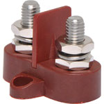 P2175 Dual Red M8 Power Distribution Post