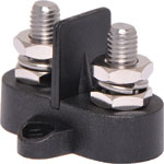 P2176 Dual Black M8 Power Distribution Post