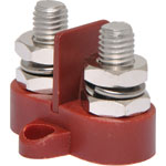 P2177 Dual Red M10 Power Distribution Post