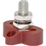 P2182 Single Red M10 Power Distribution Post
