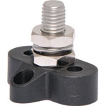 P2183 Single Black M10 Power Distribution Post