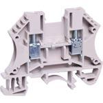 P2403 35A 4mm Grey DIN Rail Terminal