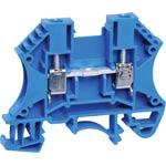 P2410 25A 2.5mm Blue DIN Rail Terminal