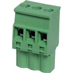 P2613 3 Way 5.08mm Vert. Pluggable Terminal Plug