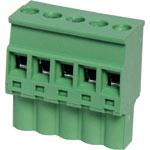 P2615 5 Way 5.08mm Vert. Pluggable Terminal Plug
