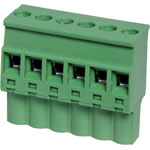 P2616 6 Way 5.08mm Vert. Pluggable Terminal Plug