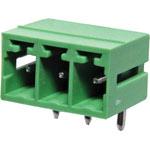 P2673 3 Way 3.81mm Horiz. PCB Mnt Boxed Pluggable Skt