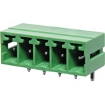 P2675 5 Way 3.81mm Horiz. PCB Mnt Boxed Pluggable Skt