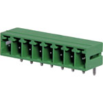 P2678 8 Way 3.81mm Horiz. PCB Mnt Boxed Pluggable Skt