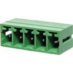 P2695 5 Way 3.81mm Vert. PCB Mnt Boxed Pluggable Skt