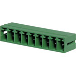 P2699 9 Way 3.81mm Vert. PCB Mnt Boxed Pluggable Skt