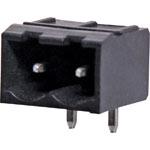 P2792 2 Way 5.08mm Horiz. PCB Mount Boxed Reflow Skt