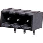 P2793 3 Way 5.08mm Horiz. PCB Mount Boxed Reflow Skt