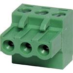 P2803 3 Way 5mm Offset Pluggable Terminal Plug
