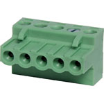 P2805 5 Way 5mm Offset Pluggable Terminal Plug