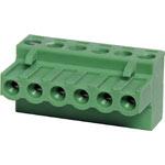 P2806 6 Way 5mm Offset Pluggable Terminal Plug