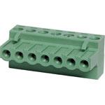 P2807 7 Way 5mm Offset Pluggable Terminal Plug