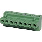 P2808 8 Way 5mm Offset Pluggable Terminal Plug