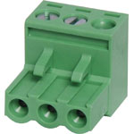 P2513 3 Way 5.08mm Pluggable Terminal Plug