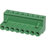 P2818 8 Way 5mm Pluggable Terminal Plug