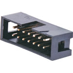 P5014 14 Pin Vertical PCB Mount Boxed Header