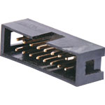 P5016 16 Pin Vertical PCB Mount Boxed Header