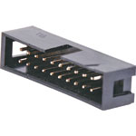 P5020 20 Pin Vertical PCB Mount Boxed Header