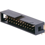 P5076 26 Pin Right Angle PCB Mount Boxed Header